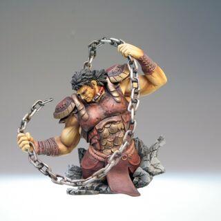 Tarkus figurine from the <a href=