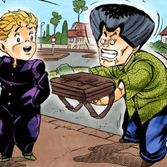 Compared with Koichi after their fight