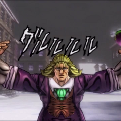 Razor Hat attack, <i>Phantom Blood</i>