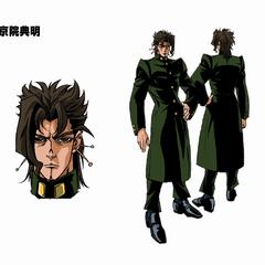Concept art for the 2001 OVA