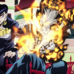 Hayato sacrifices himself to disable Kira's bomb on <a href=