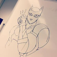 Drawn by Unknown Staff member