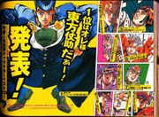 Araki's Top Ten Favourite Characters (2000)