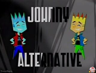Johnny Alternative title card