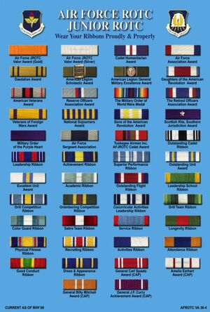 Ribbons jrotc wiki fandom powered by wikia for Air force decoration guide