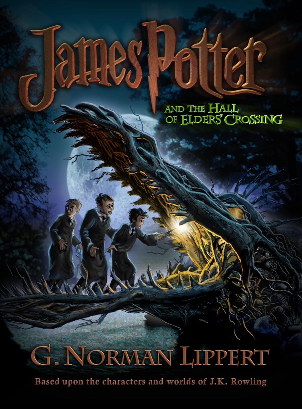 Harry Potter Book Wiki : James potter and the hall of elders crossing