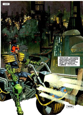 Mega-City One Twilight Last Gleaming