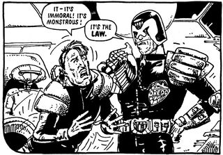Dredd it's the law