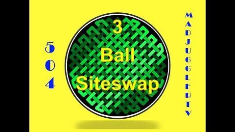 504 ~ Three Ball Siteswap