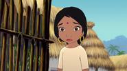 Shanti is sad for Mowgli
