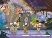 The Jungle Book Bath time