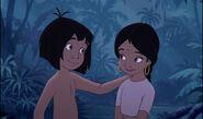 Mowgli and Shanti are best friends