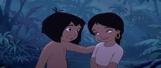 Mowgli and Shanti Best friends forever