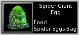 Spider Egg quick short