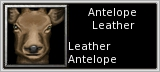 Antelope Leather quick short