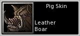 Pig Skin quick short