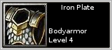 Iron Plate quick short