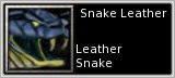 Snake Leather quick short