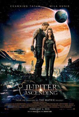 Jupiter Ascending Theatrical Poster
