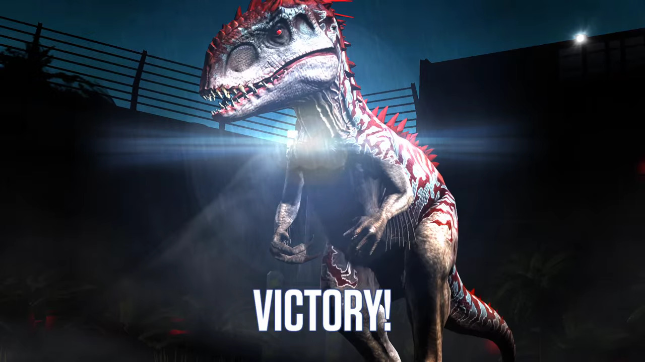 indominus rex jurassic world the mobile game wikia