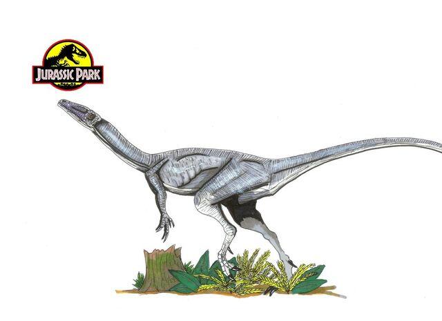 File:Jurassic Park Coelophysis by hellraptor.jpg