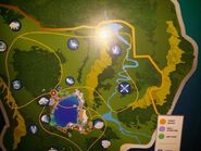 Jurassic World map east