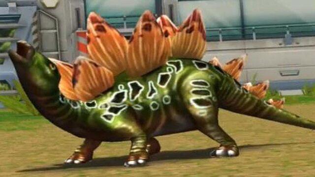 File:Jurassic Park Builder Stegosaurus in the battle arena (FINAL EVOLUTION).jpg