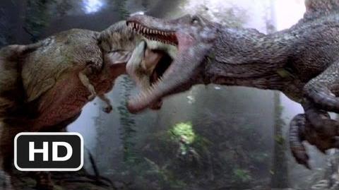 Jurassic Park 3 10) Movie CLIP - Spinosaurus vs