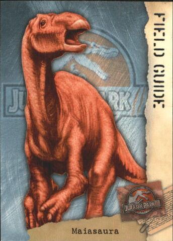 File:2001 Jurassic Park III 3-D 67 Maiasaura front.jpg