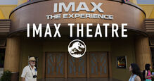 Jurassic World imax theatre