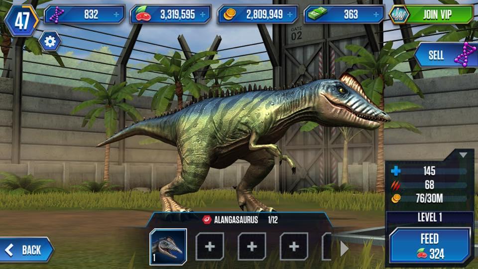 alangasaurus jurassic park wiki fandom powered by wikia