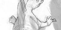 Unidentified pelycosaur
