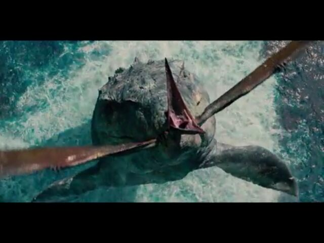 File:Mosasaurus Pteranodon.jpg