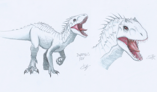 File:Indominus rex recolored with colorpencils by crazynat2012-d8ytgz5.png
