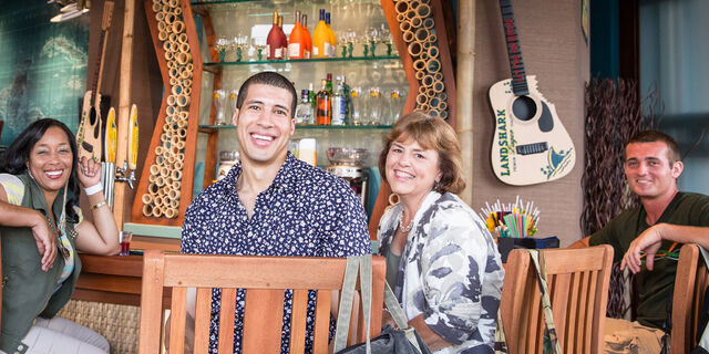 File:Margaritaville-guests-posing.jpg