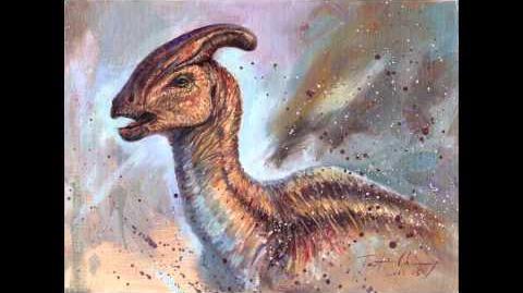 Jurassic Park - Parasaurolophus walkeri Sound Effects HD