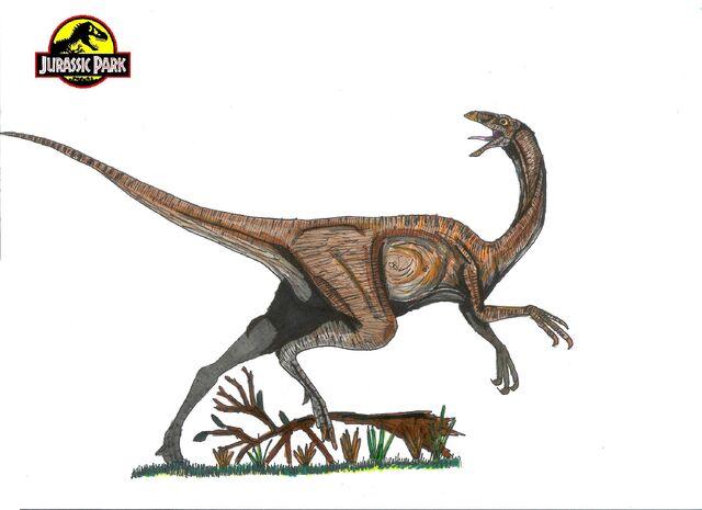 File:Jurassic Park Gallimimus by hellraptor.jpg