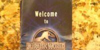 Jurassic World map