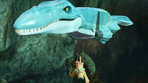 File:Lego Dimensions Scooby-Doo swiming in the Jurassic Word Mosasaurus Pool.jpg