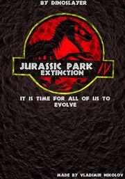 Fan made Jurasic Park poster by T PEKC