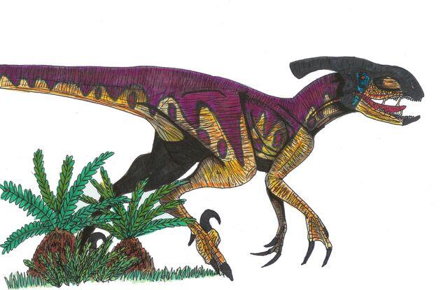 File:Jurassic park Paradeinonychus by hellraptor.jpg