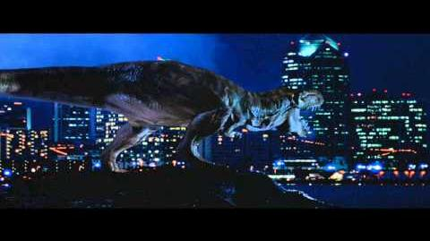 Sound Effects - Jurassic Park Tyrannosaurus, resurrected!