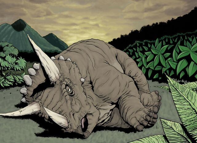 File:Sick Triceratops by jurassicpark.jpg