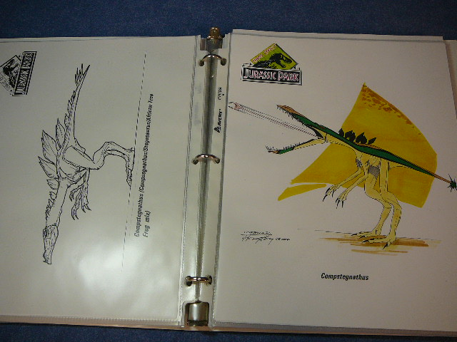 File:Individually, the Compstegnathus is cautious, but turns vicious in a group of its own kind.jpg