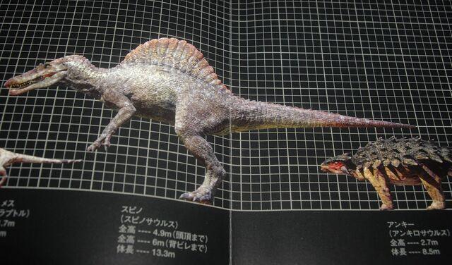 File:Spinosaurus Japanese Poster.JPG