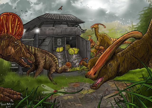 File:Jurassic park duck bills by pauloomarcio-d37yfdc.jpg