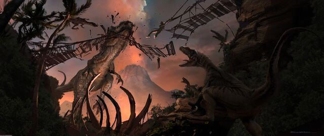 File:JurassicWorld IndominusRex Attacking Bridge.jpg