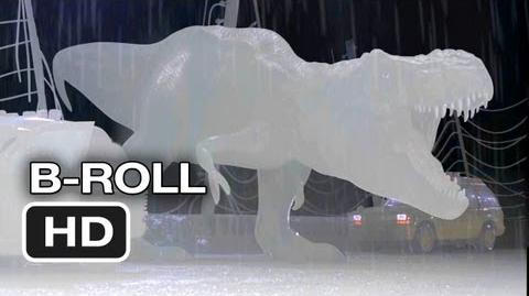 Jurassic Park 3D B-Roll (2013) - Steven Spielberg Movie HD