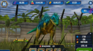 Level 40 megalosaurus