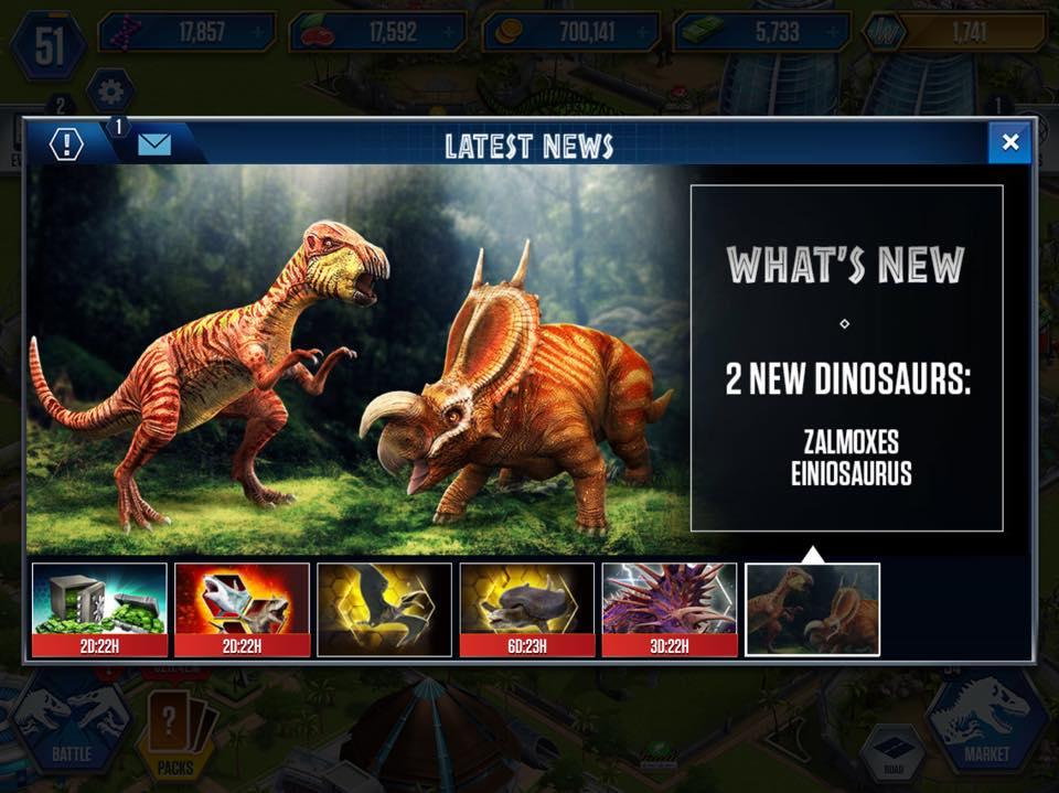 Jurassic Park Builder Jurassic World The Game Thread Page 2